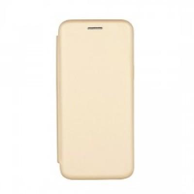 iPhone X / XS Vennus Book Soft Case Gold